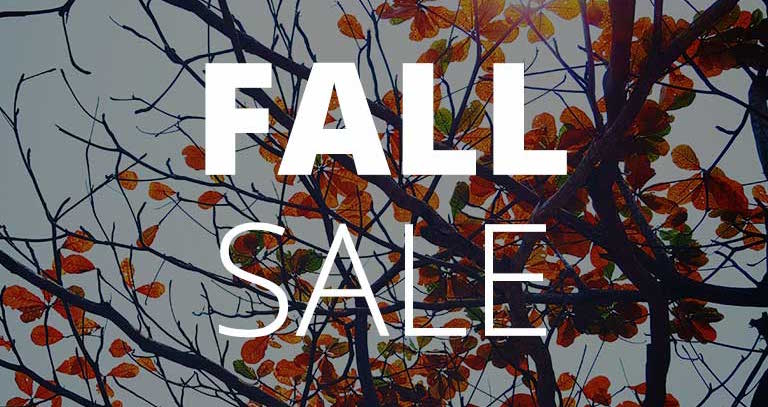Fall Sale Blog Image